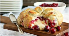 Union Chef: Baked Cranberry Brie