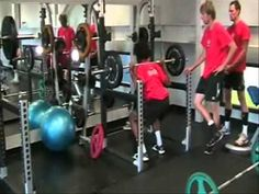 Preparación física voleibol Canadá (volleyball) - YouTube