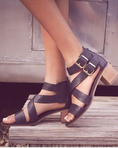Could wear these Steve Madden leather sandals everyday this summer.