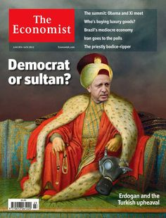 """The June 8, 2013 cover of The Economist featured the face of Turkish Prime Minister Recep Tayyip Erdoğan, superimposed on the reclining, robed body of a 16th century Ottoman sultan, complete with prayer beads and a crown worthy of Suleiman the Magnificent.[1] It reads, """"Democrat or Sultan?: Erdoğan and the Turkish Upheaval."""" Published during the midst of last summer's monumental Gezi Park protests, """"Sultan"""" Erdoğan's image on this magazine cover betrays much more than the cleverness and…"""