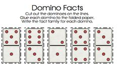 First Grade Best: Domino Fact Families