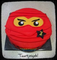 ninja lego cupcakes | ... dus voor tom een stoere lego ninjago taart en voor bram een ski taart