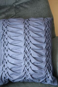 Canadian Smocking Pillow | Smocked pillow | Flickr - Photo Sharing! by Southern lady 58