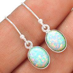 Fire Opal 925 Sterling Silver Earring Jewelry EE22562 | eBay