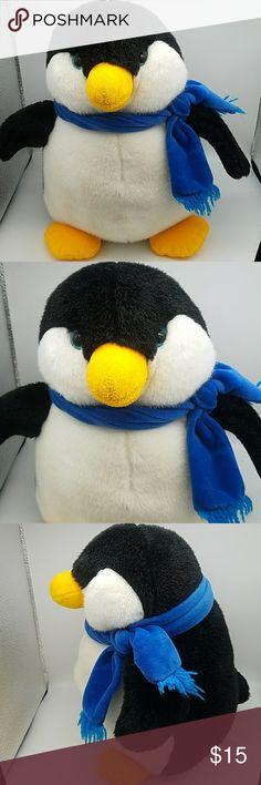 "Christmas//Winter Black and White Penguins stuffed//plush 7/"""