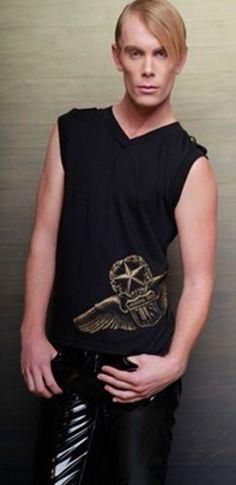 LIP SERVICE Fetish Alliance sleeveless shirt #M56-038