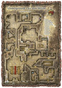 Dungeon, Underground, Temple