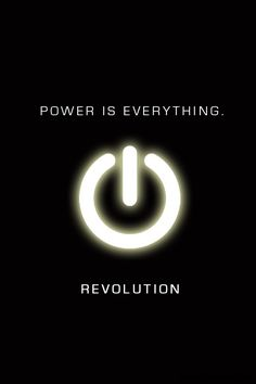 revolution TV show...based on an interesting concept that is evolving...enjoying this...However I often wonder as the seasons go in new directions ...were these directions part of the original plan?...or just thought up on the run...