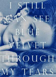 Lana Del Rey #LDR #Blue_Velvet