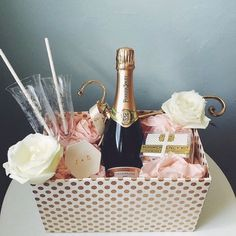 Personalized Wedding Gifts ideas and Unique Wedding Gifts wedding gifts, engagement gifts, unique we Engagement Gift Baskets, Wedding Gift Baskets, Wine Gift Baskets, Diy Engagement Gifts, Wedding Engagement, Bridal Shower Baskets, Wedding Hamper, Engagement Presents, Birthday Gift Baskets