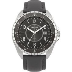 Police - Men\'s Grey Leather Fashion Watch - 13669JS-61  RRP: £139.00 Online price: £83.40 You Save: £55.60 (40%)  www.lingraywatches.co.uk Police Watches, Grey Leather, Leather Fashion, Fashion Watches, Online Price, Men, Accessories, Guys, Jewelry