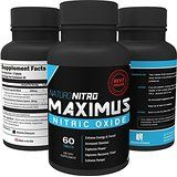 Maximus Nitric Oxide Tablets, High Potency NO Booster and L-arginine Supplement  #musclespills