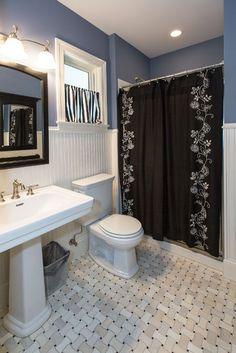 Powder Room - traditional - powder room - st louis - by Hibbs Homes, LLC