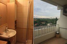 Felújítás előtt - Panellakás a 3. kerületben - 50m2-es, kétszobás otthon felújítása és berendezése egyedülálló hölgy részére Toilet, Bathtub, Bathroom, Home, Standing Bath, Washroom, Bath Tub, Litter Box, Bathtubs