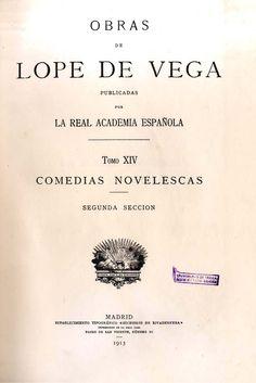 Obras de Lope de Vega / publicadas por la Real Academia Española