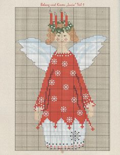 ru / Фото # 79 - country house Christmas embroidery and sewing for Christmas .ru / Фото # 79 – Country house Christmas embroidery and sewing at Christmas time – - Cross Stitch Christmas Ornaments, Christmas Embroidery, Christmas Cross, Christmas Angels, Christmas Time, Cross Stitch Freebies, Cross Stitch Charts, Cross Stitch Patterns, Stitch And Angel