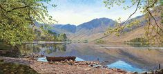 Buttermere from Dalegarth, Keith Melling
