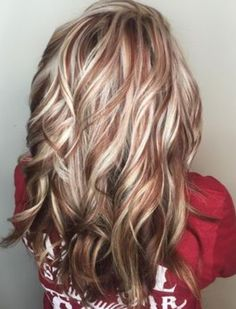 50 Beautiful Fall Hair Color To Look More Pretty 530 - hair - Hair Color Hair Color And Cut, Cool Hair Color, Hair Color Highlights, Auburn Highlights, Blonde With Red Highlights, Fall Highlights, Low Lights And Highlights, Red Low Lights, Hair Highlights And Lowlights
