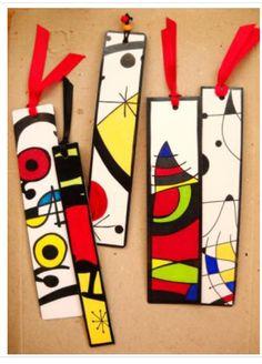 Juan Miro bookmarks