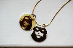 Mask Me Photo Necklace by Augenblickphoto on Etsy, €22.00