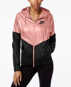 Nike Colorblocked Windrunner Jacket | macys.com