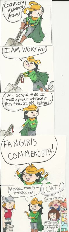 Loki Comic by nikkisparklepony