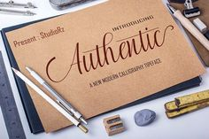 Authentic by StudioRz on @creativemarket