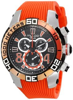 Women's Wrist Watches - MULCO Unisex MW174197065 Analog Display Swiss Quartz Orange Watch * To view further for this item, visit the image link.
