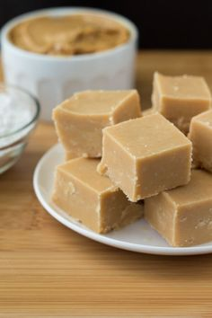 Smooth & creamy peanut butter fudge that melts in your mouth. Ready in minutes, 5 ingredients and no candy thermometer required - add this easy recipe to your holiday baking list!