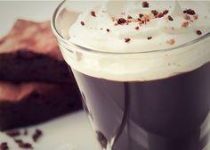 Creamy Brownie-Kaffee