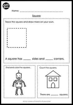 kindergarten math shapes worksheets and activities download shapes worksheets on circle square. Black Bedroom Furniture Sets. Home Design Ideas