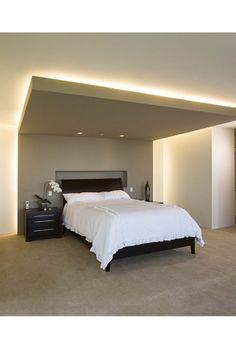 Retombée de plafond /lumière dessus