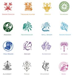 ISRPG - Profession Symbols by oOoXylaoOo