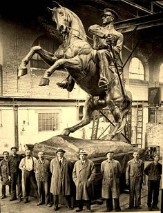 Heinrich Krippel, Samsun, Atatürk anıtı,1931 (Erdinç Bakla archive)