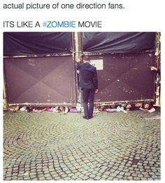 The Zombie Fans: | The 21 Most Terrifying Things One Direction Fans Have Done