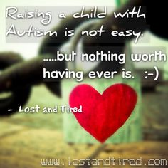 """""""Trying to be positive about #Autism while acknowledging the challenge"""""""