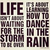 Or dancing in the snow