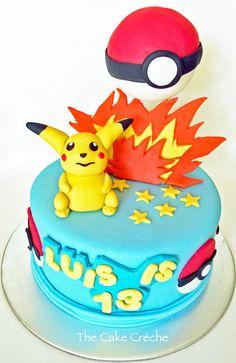 Pokémon Cake cakepins.com