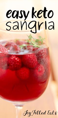 Keto Smoothie Recipes, Sangria Recipes, Wine Recipes, Real Food Recipes, Keto Recipes, Margarita Recipes, Healthy Recipes, Low Carb Mixed Drinks, Low Carb Cocktails
