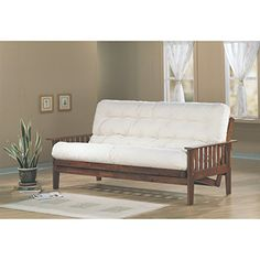 Coaster Home Furnishings 4382 Traditional Futon Frame, Oak | Best Furniture Review
