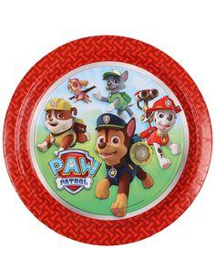 8 Platos cartón Patrulla Canina™ 23 cm: Este lote de platos incluye 8 unidades con licencia oficial Patrulla Canina™. Los platos son de cartón y miden 23 cm de diámetro.El centro de los platos tiene los personajes de...