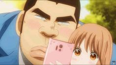 Takeo Gouda and Rinko Yamato (Ore Monogatari/My Love Story) Best Romance Anime, Honey And Clover, Blood Anime, Blue Springs Ride, Japanese Animated Movies, Vsco, Anime Monsters, My Little Monster, Studio Ghibli Movies