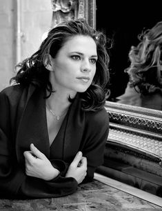 """missdontcare-x: """"""""I worry about what I am doing. I feel vulnerable some days. I am often lost in my own world, with a frown on my face. One thing that is odd is that when you get a level of success and your life suddenly looks great, you can still. Hayley Atwell, Hayley Elizabeth Atwell, Peggy Carter, Hollywood Actresses, Actors & Actresses, Divas, Celebrity Beauty, Beautiful Actresses, American Actress"""