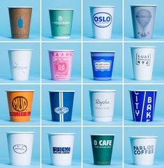 A Visual Survey of NYC Coffee Cups A visual survey of New York City coffee cups, from GP's favorite cafes across the city. Nyc Coffee, Great Coffee, Coffee Drinks, Coffee Shops, Coffee Mugs, Coffee Beans, Coffee Enema, Starbucks Coffee, Coffee Maker