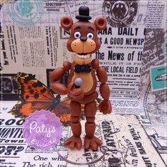 Miniatura Freddy-Five Nights at Freddy's - Paty's Biscuit