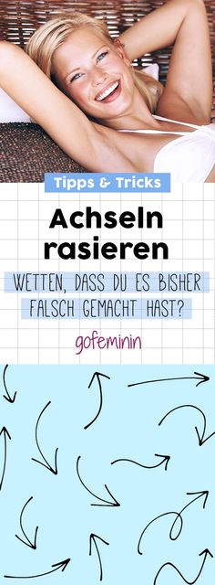 Achseln richtig rasieren: Mit diesen Tipps vermeidest du Rasurbrand Shave armpit properly: You should pay attention to these 8 tips! No-Poo – Wash your brilliant tips, with themSo you end up with it Skin Care Regimen, Skin Care Tips, Concealer Tips, Shave Armpits, Razor Burns, Rides Front, Sephora, Makeup Techniques, Combination Skin