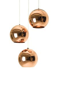 $610 tom dixon copper shade pendant