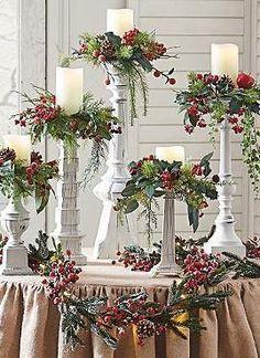 Adorno de mesa para navidad