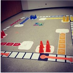 eastrockawaylibrary.blogspot.com  We made a life-size Sorry board game and it was awesome!!!