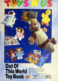 Out of this world toy book - catalog from 1986 a e d of a era 2018 it closes for good